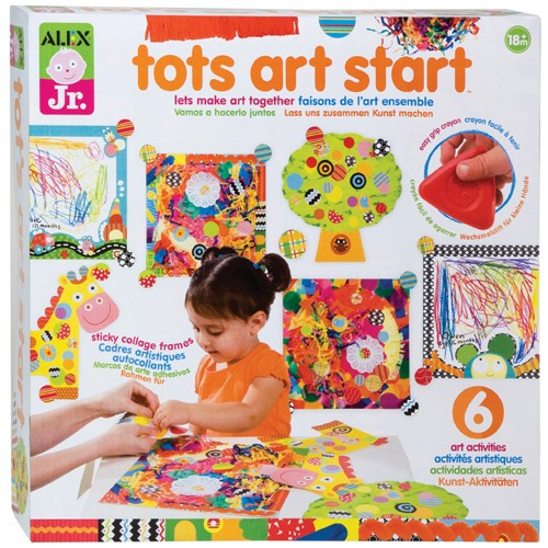 tots art start toddler craft kit educational toys planet. Black Bedroom Furniture Sets. Home Design Ideas