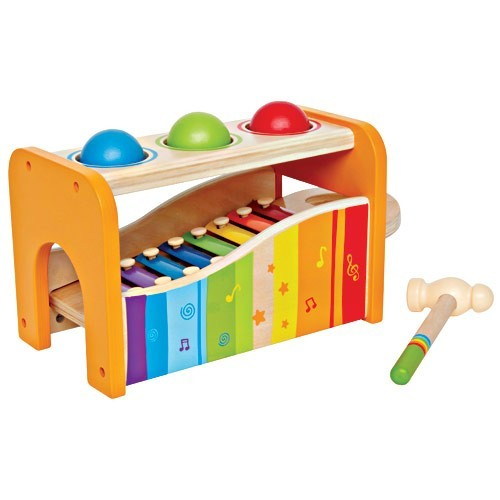 Pound A Ball Toy Toys : Pound tap bench toddler activity toy educational toys