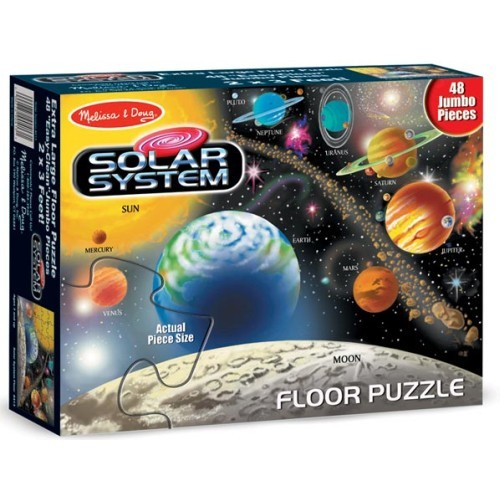 Solar System 48 Pc Floor Puzzle Educational Toys Planet