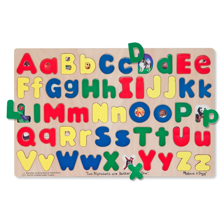 Upper Amp Lower Case Alphabet Puzzle Educational Toys Planet