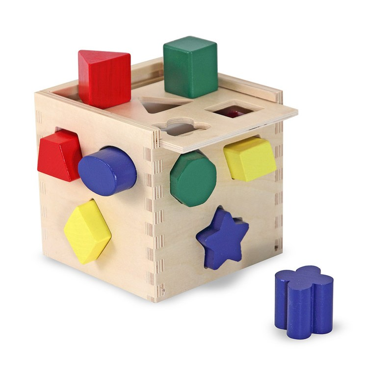 Wooden Cube Toys 86