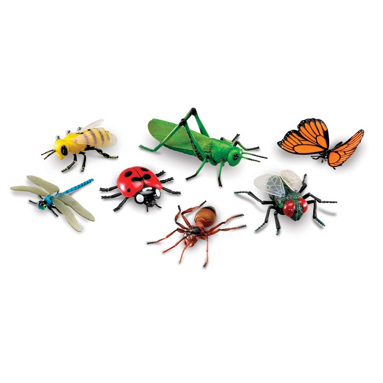 Toy Sets For Toddlers Toy Giant Bugs 7 pc Set