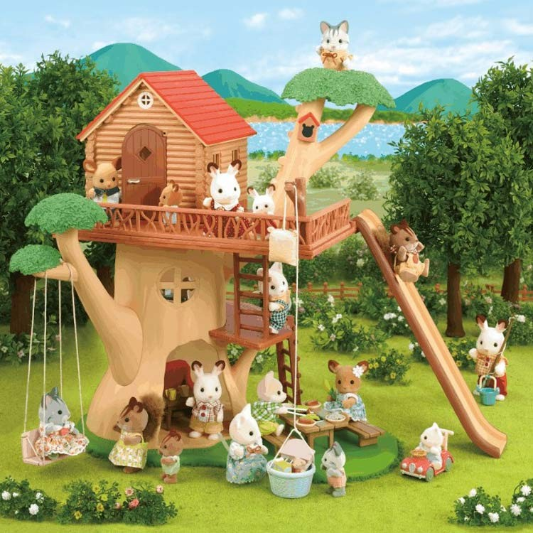 Calico Critters Luxury Townhome - Educational Toys Planet