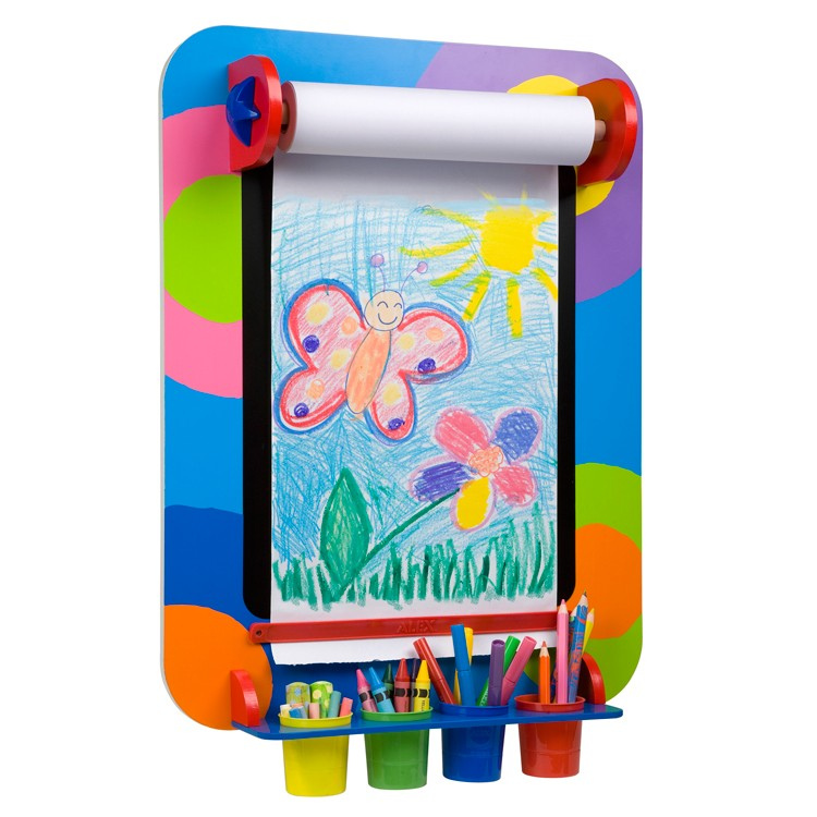 Kids wall art easel educational toys planet for Alex toys craft color a house children s kit