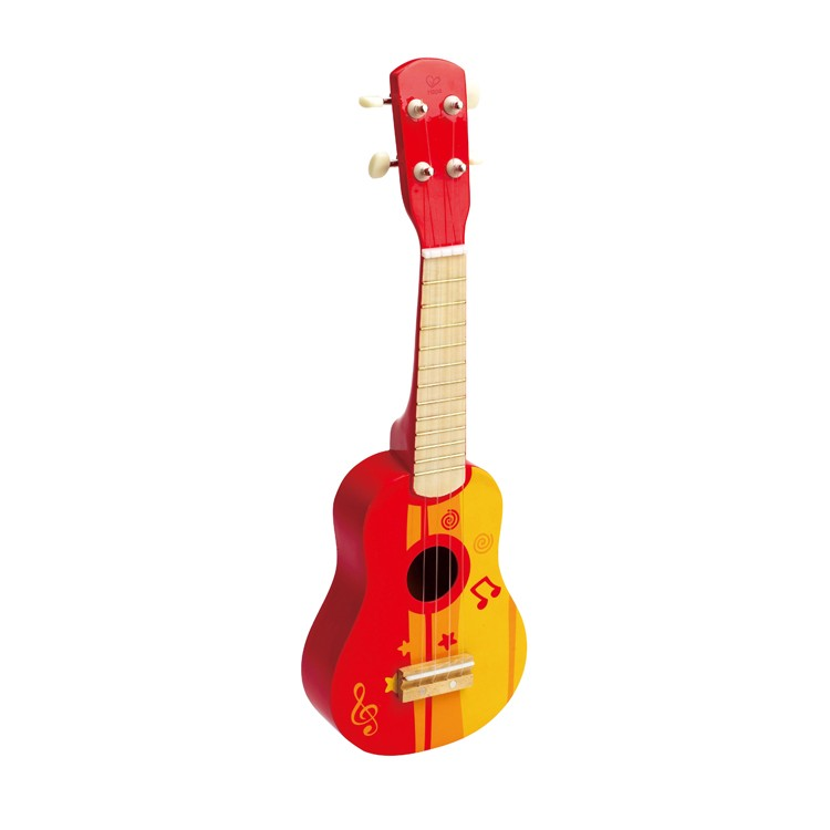 kids ukulele musical instrument red educational toys planet. Black Bedroom Furniture Sets. Home Design Ideas
