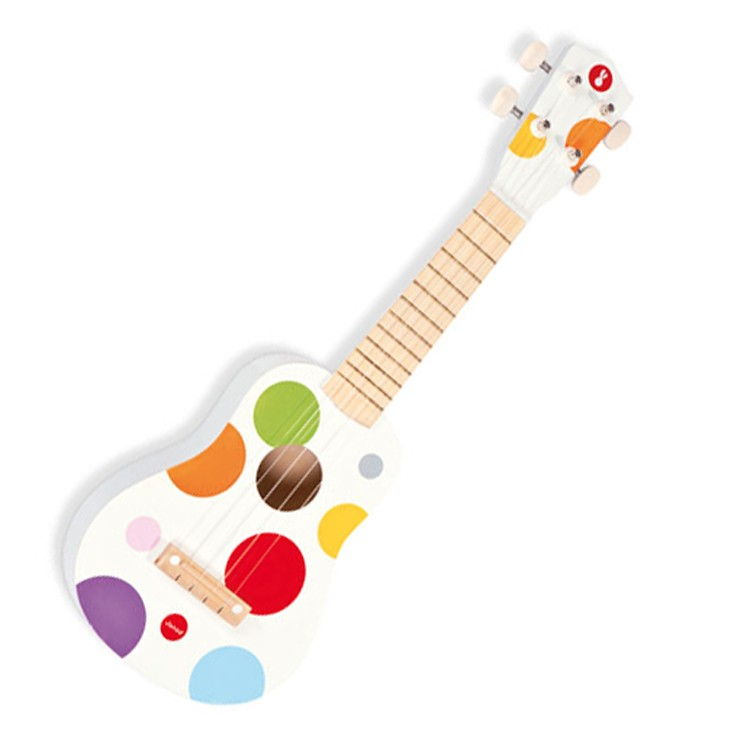 toy ukulele confetti musical instrument educational toys planet. Black Bedroom Furniture Sets. Home Design Ideas
