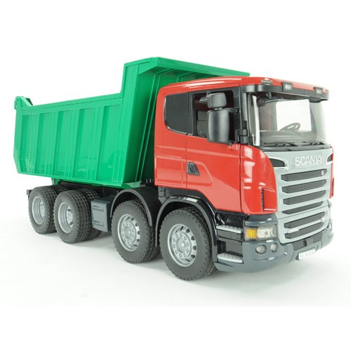 Bruder scania r series deluxe dump truck toy educational toys planet