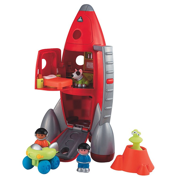 Rocket Toys For 3 Year Olds : Lift off rocket toddler playset educational toys planet