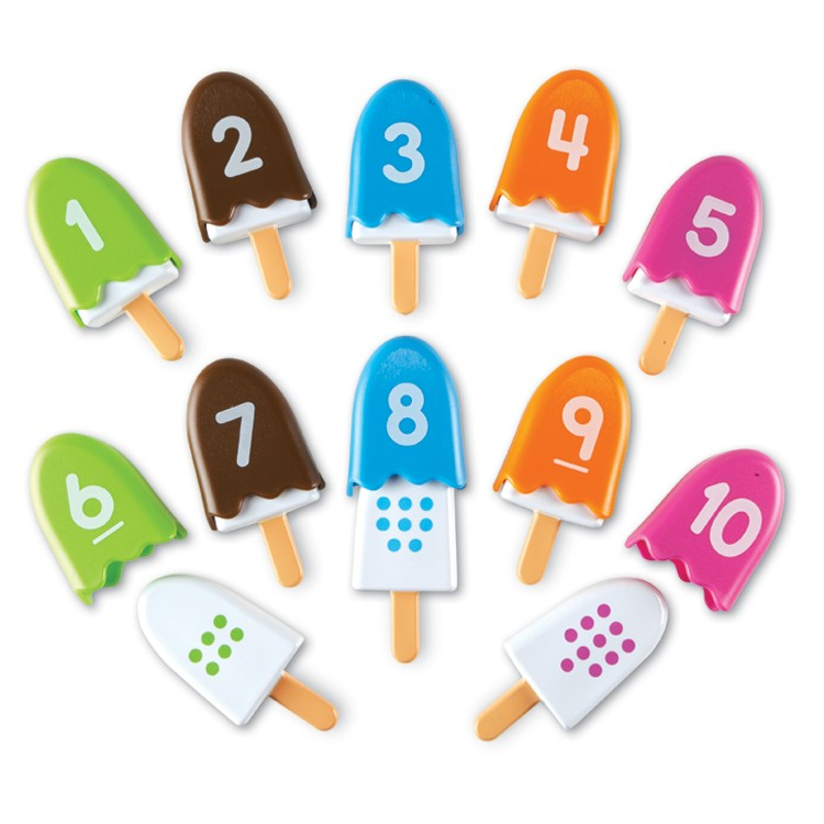 Smart Snacks Number Pops Counting Toy Educational Toys