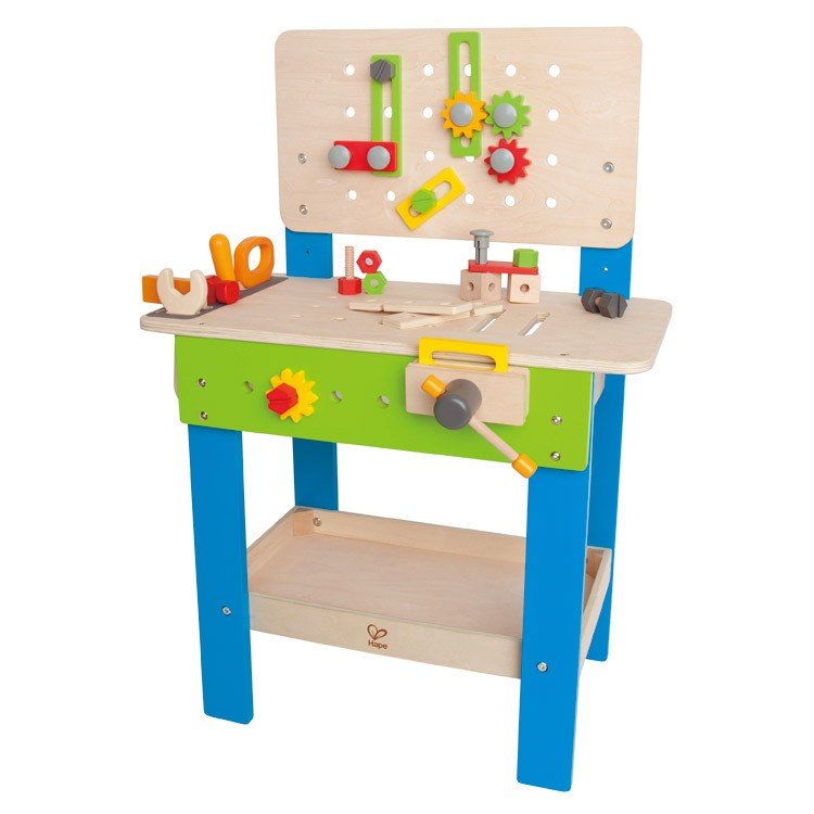 Master Workbench Wooden Playset For Kids Educational Toys Planet