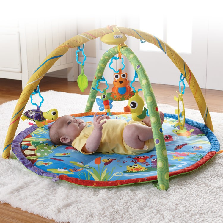 Lamaze Pond Symphony Musical Baby Gym Educational Toys
