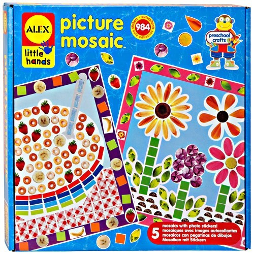 Picture Mosaic Kids Craft - Educational Toys Planet