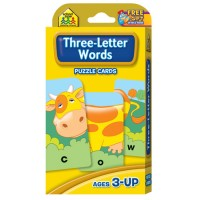Three Letter Words Spelling Puzzle Cards