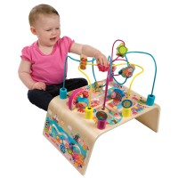 Busy Bead Maze Toddler Activity Center - Mermaid Adventure
