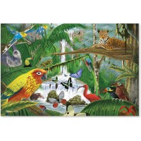 Rain Forest Majesty 48 pc Floor Puzzle