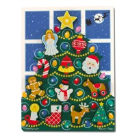 Christmas Tree Chunky Puzzle for Toddlers