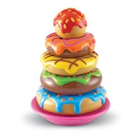 Smart Snacks Stacking Doughnuts Toy