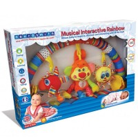 Musical Interactive Rainbow Baby Stroller Activity Center