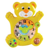 Toy Bear Time Teaching Clock