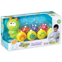 Click Rattle n Roll Caterpillar Baby Toy