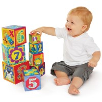 ABC & 123 Nesting & Stacking Cubes Learning Toy