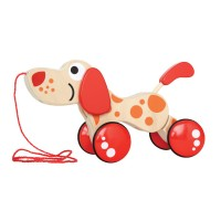 Walk Along Puppy Toddler Pull Toy