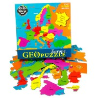GeoPuzzle Europe - 58 pc Map Puzzle