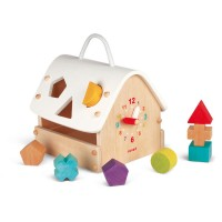 Shape Sorting House Manipulative Activity Toy