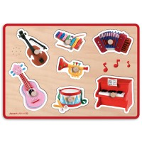 Musical Instruments Fleurus Sound Wooden Puzzle