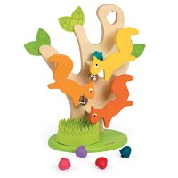 Nutty Ball Track Squirrel Tree Toddler Activity Toy