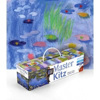 Famous Painting  Art Kit - Water Lilies by Monet