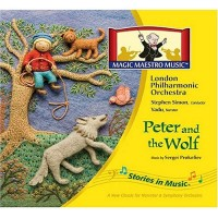 Peter and the Wolf Children Classical Music CD