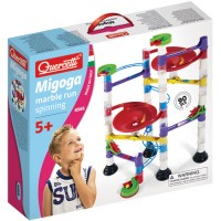 Quercetti Spinning Marble Run Building Set