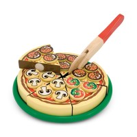 Pizza Party Wooden Pizza Playset