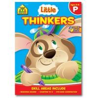 Little Thinkers Preschool Thinking Activity Workbook
