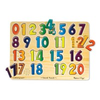 Numbers Sound Puzzle Learning Toy