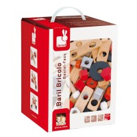 First Wooden 45 pc Building Set