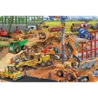 Construction Site 24 pc Jumbo Floor Puzzle