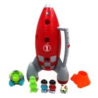 Lift Off Rocket Toddler Playset