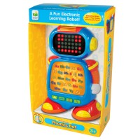 Phonics Bot Early Reading Learning Toy Robot