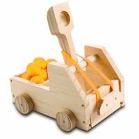 Kids Woodworking Building Set - Truck Catapult