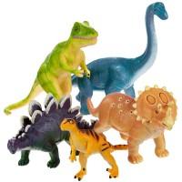 Jumbo Dinosaurs Dino Figurines 5 pc Playset