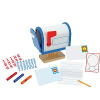 Toy Mailbox Wooden Play Set