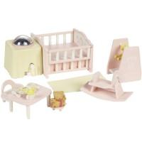 Calico Critters Nightlight Nursery Set