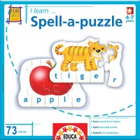 Spell a Puzzle Learn Spelling Matching Game
