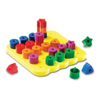 Stacking Shapes Pegboard Learning Set
