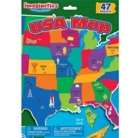Magnetic USA Map