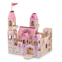 Deluxe Folding Princess Castle Wooden Toy
