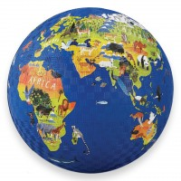 World Animals Map 7 inch Play Ball