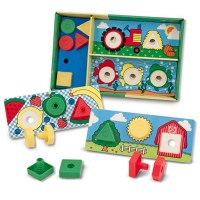 Nuts & Bolts Sorting Boards Learning Set